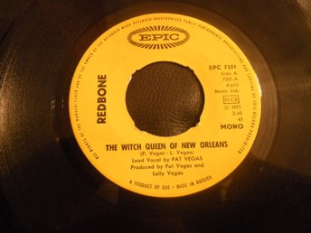 redbone the witch queen of new orleans -chant:13th hour singel