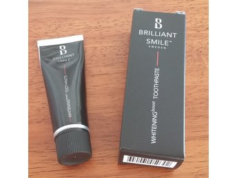 "Oanvänd! Whitening boost Toothpaste från ""Brilliant Smile"" 20 ml"