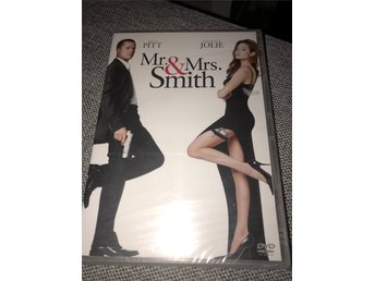Mr & Mrs Smith   *Helt Ny, Inplastad*   DVD