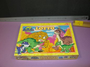 The Land Before Time, Dinosaurie Lotto, Tactic, Komplett