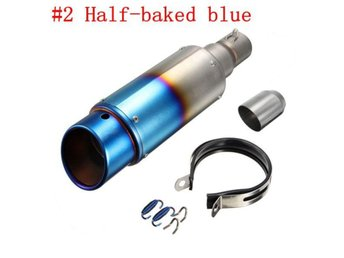 38-51mm Stainless Steel OR Carbon Exhaust Muffler Pipe Si...
