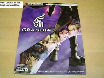 GUIDE WALKTHROUGH GRANDIA 3 SONY PLAYSTATION 2 PS2 *NYTT*