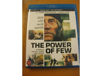 THE POWER OF FEW - CHRISTOPHER WALKEN, CHRISTIAN SLATER - BLU-RAY