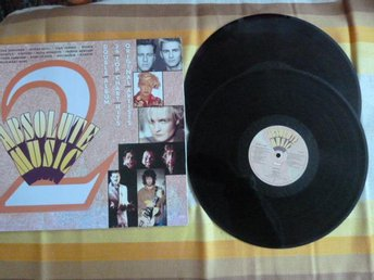ABSOLUTE MUSIC 2, C´EST LA VIE, THE GREAT PRETENDER, LP, LP-SKIVA
