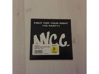N.Y.C.C. - FIGHT FOR YOUR RIGHT. (CD S)