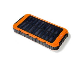 Powerbank/nödladdare Solcell 5000 mAh Orange