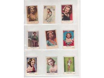 Virgina Mayo, 9 olika filmisar - Huskvarna - Virgina Mayo, 9 olika filmisar - Huskvarna