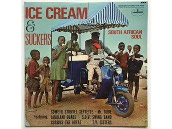 VA Ice Cream & Suckers - South African Soul LP US