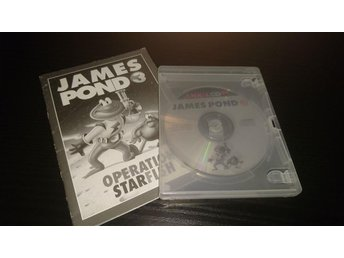 James Pond 3, Amiga CD32
