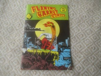 Flaming Carrot Comics #14 av Bob Burden, 1986