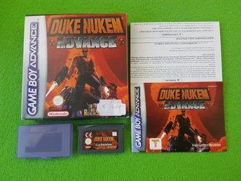 Duke Nukem Advance KOMPLETT GBA Gameboy Advance - Hägersten - Duke Nukem Advance KOMPLETT GBA Gameboy Advance - Hägersten