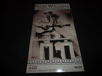 Hank Williams - The king of Hillbilly music - 4CD box - 2005