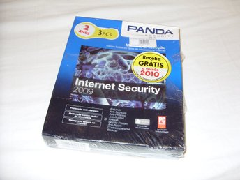 Panda Security Internet Security 2009 2 År för 3 PC datorer Ny! Antivirus