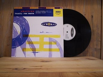 OBERTON / Insanity: The Thruth + 2 / 12''- 1991 / THECNO