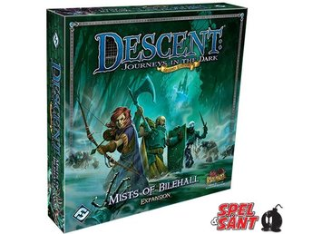 Descent Journeys in the Dark Second Edition Mists of Bilhall Expantion
