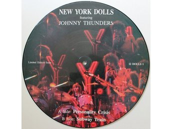 "NEW YORK DOLLS 'Personality Crisis' Dutch 12"" pic-disc"