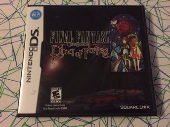Final Fantasy Ring of Fates till Nintendo DS