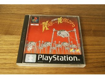 Jeff Wayne's THE WAR OF THE WORLDS Playstation 1 Ps1 PAL SHOOTER RETRO