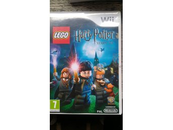 Nintendo wii spel Harry Potter Years 1-4