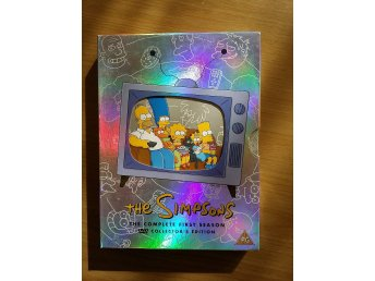 The Simpsons Collectors Edition DvD Box Säsong 1