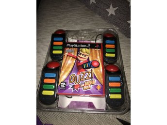 PS2 Buzz! The mega quiz