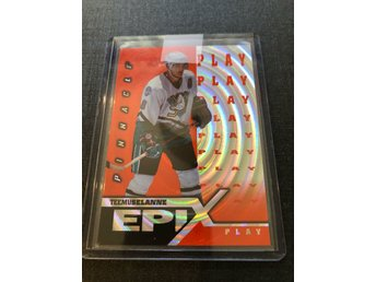 Teemu Selanne Pinnacle Epix Play insert orange