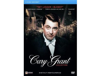 Cary Grant Collection - 4 filmer (4 DVD)