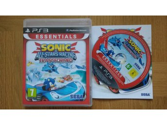 PlayStation 3/PS3: Sonic Allstars Racing Transformed