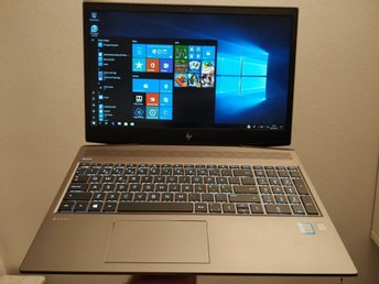 HP ZBook 15v G5 intel Core i5-8300H/16 GB DDR4/256 GB SSD/15.6/FHD+34mån Garanti