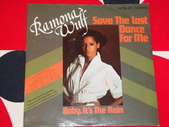 "RAMONA WOLF - SAVE THE LAST DANCE FOR ME 7"" 1976"