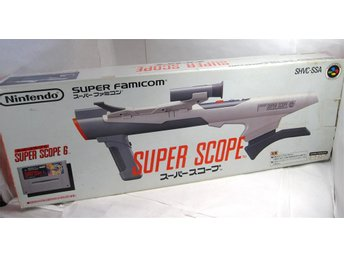 Super Scope 6 (bazooka) till SNES + 1 spel