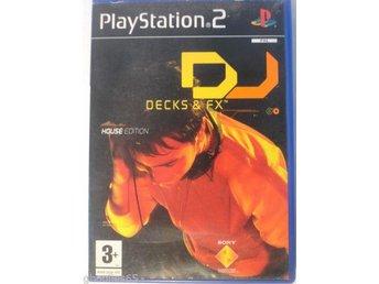 DJ Decks & FX House Edition - Playstation 2 - Varberg - DJ Decks & FX House Edition - Playstation 2 - Varberg