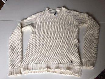 Pepe Jeans Stickad tröja, S/M - ecru - Karlstad - Pepe Jeans Stickad tröja, S/M - ecru - Karlstad