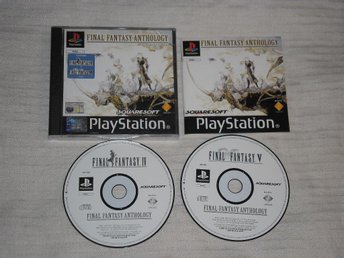 PlayStation/PS1: Final Fantasy Anthology (V + VI)