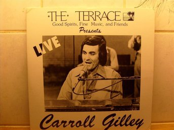 CARROLL GILLEY THE TERRACE PRESENTS CARROLL CG-101 2-LP