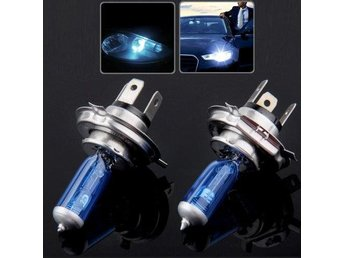 Halogenlampa H4 Super White 5500K 55W