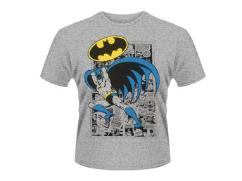 BATMAN LOGO POSE T-Shirt - Large