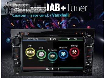 Opel/Vauxhall DVD/GPS med HD Skärm och inbyggd DAB/FM Radio - Blattnicksele - Opel/Vauxhall DVD/GPS med HD Skärm och inbyggd DAB/FM Radio - Blattnicksele