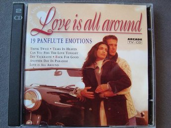 2 CD-BOX Panflute; Love is all Around & Christmas Melodies.