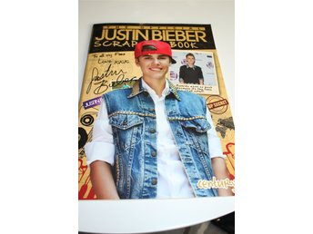 Justin Bieber - The Official Justin Bieber Scrapbook - nyskick