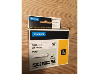 Dymo Rhino label vinyl 9mm
