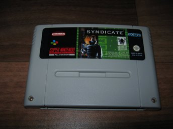 SNES/PAL: Syndicate (enbart kassett)