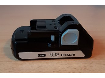 NYTT Hitachi batteri 18V Li-ion!