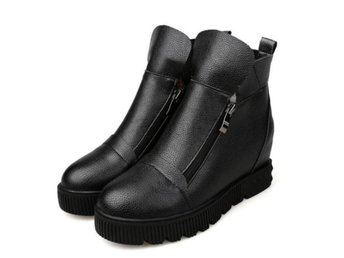 Dam Boots Shoes height increasing Botas Mujer Black 40