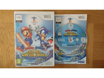 Nintendo Wii: Mario & Sonic at the Olympic Winter Games