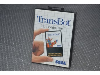 Transbot - Astro Flash - SHMUP - Sega Master System - Card version!