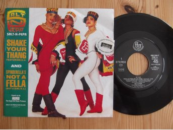 Salt 'N' Pepa‎– Shake Your Thang/ Spinderella's Not A Fella