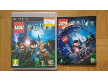PlayStation 3/PS3: LEGO Harry Potter Years 1-4