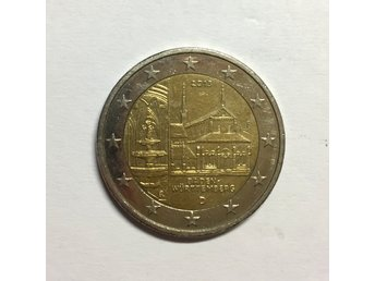 2 euro coin - Maulbronn Abbey in Baden-Wurttemberg - Germany, 2013