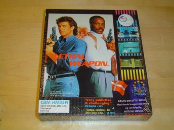Lethal Weapon Commodore Amiga 500 *NYTT*